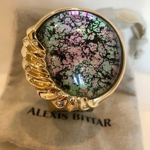 ⭐️Alexis Bittar⭐️Sculptural Sphere Hinge bracelet
